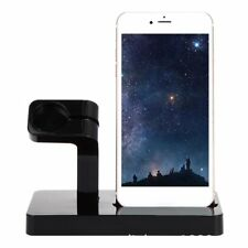 Charger Dock for Apple Watch 38 42 mm Stand iPhone Charging Dock Station Holder