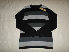DKNY JEANS SWEATER MENS SIZE XXL CREWNECK MULTI- COLOR LONG SLEEVES NEW NWT