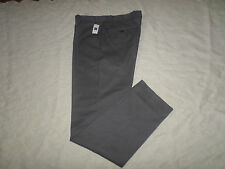 GAP KHAKIS PANTS MENS TAILORED SLIM FIT SIZE 44X32 ZIP FLY GREY COLOR NEW NWT