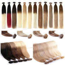 1g/s 16-22Inch Pre Bonded U/Nail Fusion Keratin Remy Human Hair Extensions Thick