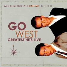 GO WEST - Greatest Hits Live - CD - Import Live - **BRAND NEW/STILL SEALED**