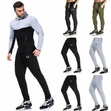 Men's Gym Sport Jogger Tracksuit Sweatpants Running Cycling Long Pants Trousers