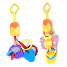 Cute Infant Baby Plush Stroller Car Seat Hanging Teether Rattles Toys Crib