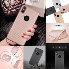 Exquisite Protective Ultra Thin Carbon Fiber Soft TPU Case Cover for iPhone X 8