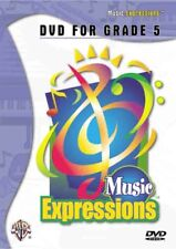 MUSIC EXPRESSIONS DVD FOR GRADE 5 - Hardcover **BRAND NEW**