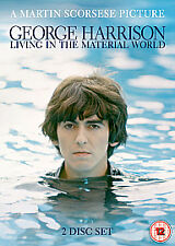 George Harrison - Living In The Material World(DVD, 2011,2-Disc Set) New Sealed