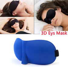 HOT Soft Padded Blindfold 3D Eye Mask Travel Rest Sleep Aid Shade Cover