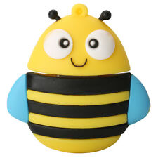 Creative 3D Cartoon Bee USB 2.0 Memory Stick Flash Pen Drive 16GB-256GB