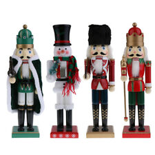 Wooden Nutcracker Soldier Puppet Doll Handcraft Home Decor Christmas Gifts