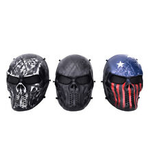 Airsoft Paintball Full Face Skull Skeleton Mask Tactical Military CosplayPartyBH