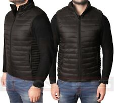 Mens Urban Classics Designer Gilet Quilted Bodywarmer Sleeveless Jacket Coat LPG
