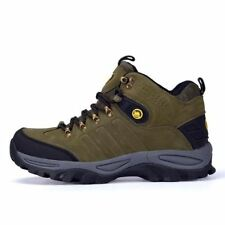 New Fashion Brown Grey Green Color Outdoor Waterproof Hiking Shoe For Men