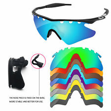 Nose Piece +Polarized Replacement Lenses For-Oakley M Frame Heater Vented-Option