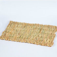 Woven Grass Mat for Rabbits Small Animals Natural Handmade Seagrass Mat Elegant