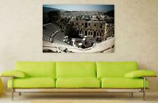 Canvas Poster Wall Art Print Decor Amphitheater Greece Ancient