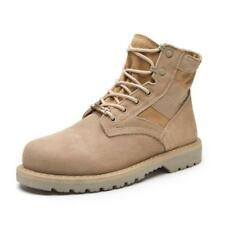 Leather Ankle Boots Cow Suede  Military Tactical Outdoor Combat Army Boots