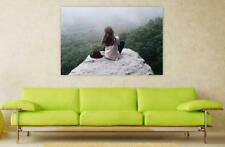 Canvas Poster Wall Art Print Decor Girl Woman Beauty Female Young