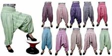 Indian Cotton Striped Genie Baggy Gypsy Trousers Yoga AUS Harem Pants
