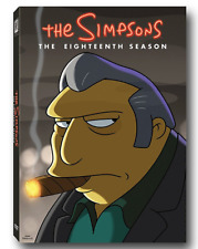 NEW! The Simpsons: Animated Sitcom TV Complete Season 18 DVD Set PRE-ORDER! 12/5