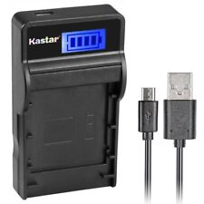 Kastar LCD-3 USB Charger for Canon LP-E6 LP-E6N LPE6 LPE6N LC-E6