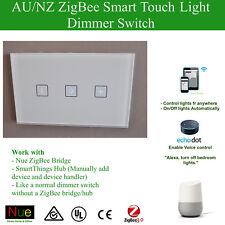 Smart ZigBee Dimmer Switch for Google Home Mini Alexa Voice Control Automation