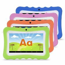 7'' inch Quad Core Tablet PC for Kids Android4.4 Dual Camera WiFi Children Child
