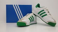 ADIDAS Jrs Samoa J White/Fairway Green Size 13.5 G21240 (DISCOLORED) - BRAND NEW