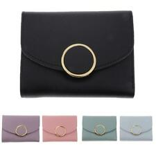 Womens PU Leather Small ID Credit Card Wallet Holder Pocket Case Pouch Handbag