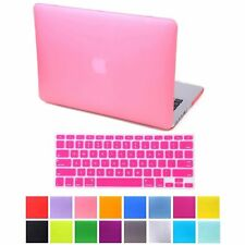 """Rubberized Hard Case For Aplple Macbook Air 13.3"""" A1369 A1466 + Keyboard Cover"""