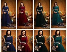 Indian Bollywood Salwar Kameez Pakistani Designer Anarkali Wedding Suit B85