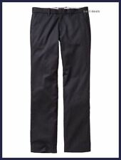 GAP MENS $55 Tailored STRAIGHT FIT CHINO Dress Pants NAVY PLAID 30Wx30L NEW