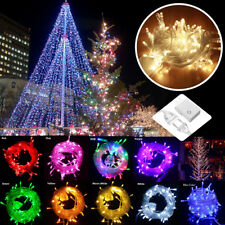 10M Waterproof 100LED Home Outdoor Christmas Party Fairy String Lights 100/200V