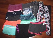 🏃⚽🏊 Women's Athletic Shorts Capris Pants Under Armour Adidas New NWT