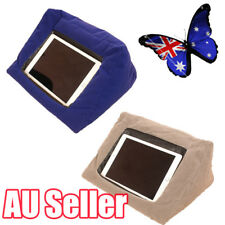 "Cushion Stand Portable Tablet Pillow beanbag 9.4"" Wide For iPad iPad Air Iphone"