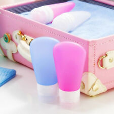 Refillable Silicone Bottle Travel Kit Lotion Bath Shampoo Containers Clever
