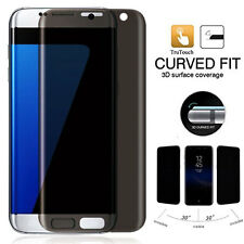 9H Curved Anti-Spy Tempered Glass Privacy Screen for Samsung Galaxy S7 Edge NEW