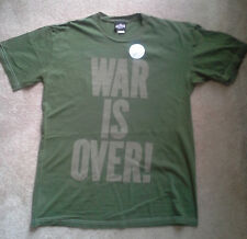 """JOHN LENNON YOKO """"War Is Over"""" (Small) or """"Power to the People"""" (Medium) T-SHIRT"""