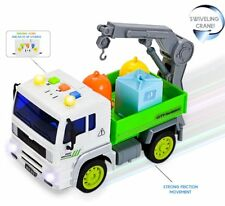 Truck Toy With Lights and Sounds Garbage Dump Truck Dirt Dumper Truck