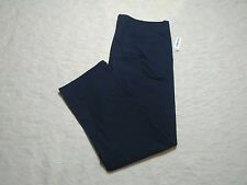 OLD NAVY BROKEN-IN STRAIGHT KHAKI PANTS MENS SIZE 46X32 NAVY COLOR ZIP FLY NWT