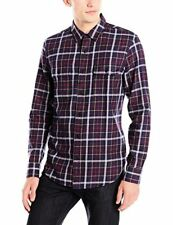 Lucky Brand Men's Miter Two Pocket Shirt in Navy Multi - Choose SZ/Color