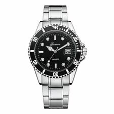Men fashion casual watches Military Stainless Steel Sport Wrist Watch