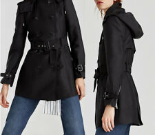 ZARA NEW AW 2017. CLASSIC TRENCH COAT WITH HOOD. REF 0518/252