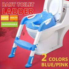 Kids Potty Training Seat with Step Stool Ladder for Child Toddler Toilet 8