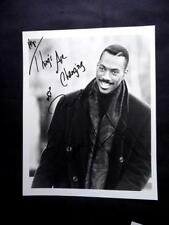 EDDY MURPHY AUTOGRAPHED THINGS ARE CHANGING 8X10 PHOTO CHARITY AUCTION EVENT