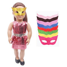 Handmade Fashion Bling Bling Party Mask for 18'' American Girl Doll Clothing