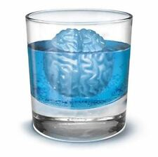 Novel Brain Shape Freeze Ice Cube Tray Mould 4 Forms Cookies Chocolate