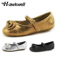 Hawkwell girl flats Mary Jane shoes little girl ballet flats Butterfly-knot Bow