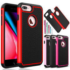 For iPhone 7 / 7 Plus / 8 / 8 Plus Shockproof Hybrid Armor Hard Phone Case Cover