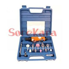 """32mm 40mm 1/4"""" Angle Pneumatic Air Die Grinder Polisher Cutting Tool Kit"""