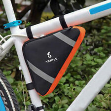 Cycling Bike Bycicle Compact Frame Pack Pannier Front Tube Triangle Bag Pouch